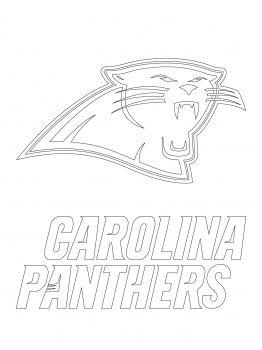 262x350 Carolina Panthers Stencil Carolina Panthers Logo, American