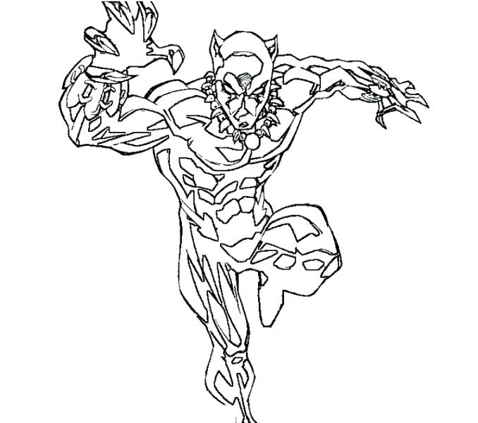 678x600 Panther Coloring Pages Click To See Printable Version Of Panthers