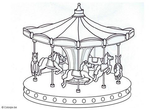 Carousel Drawing