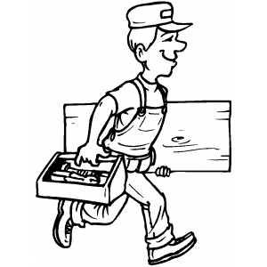Carpenter Drawing at GetDrawings.com | Free for personal ...  Carpenter Drawi...