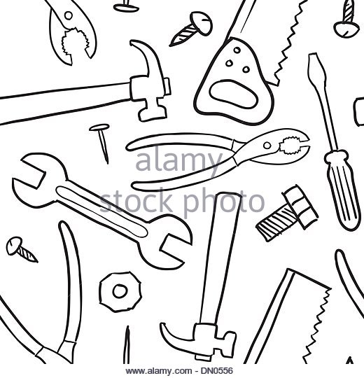 520x540 Wood Saw Sketch Stock Photos Amp Wood Saw Sketch Stock Images
