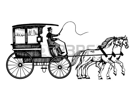 450x338 298 Horse Drawn Carriages Stock Illustrations, Cliparts
