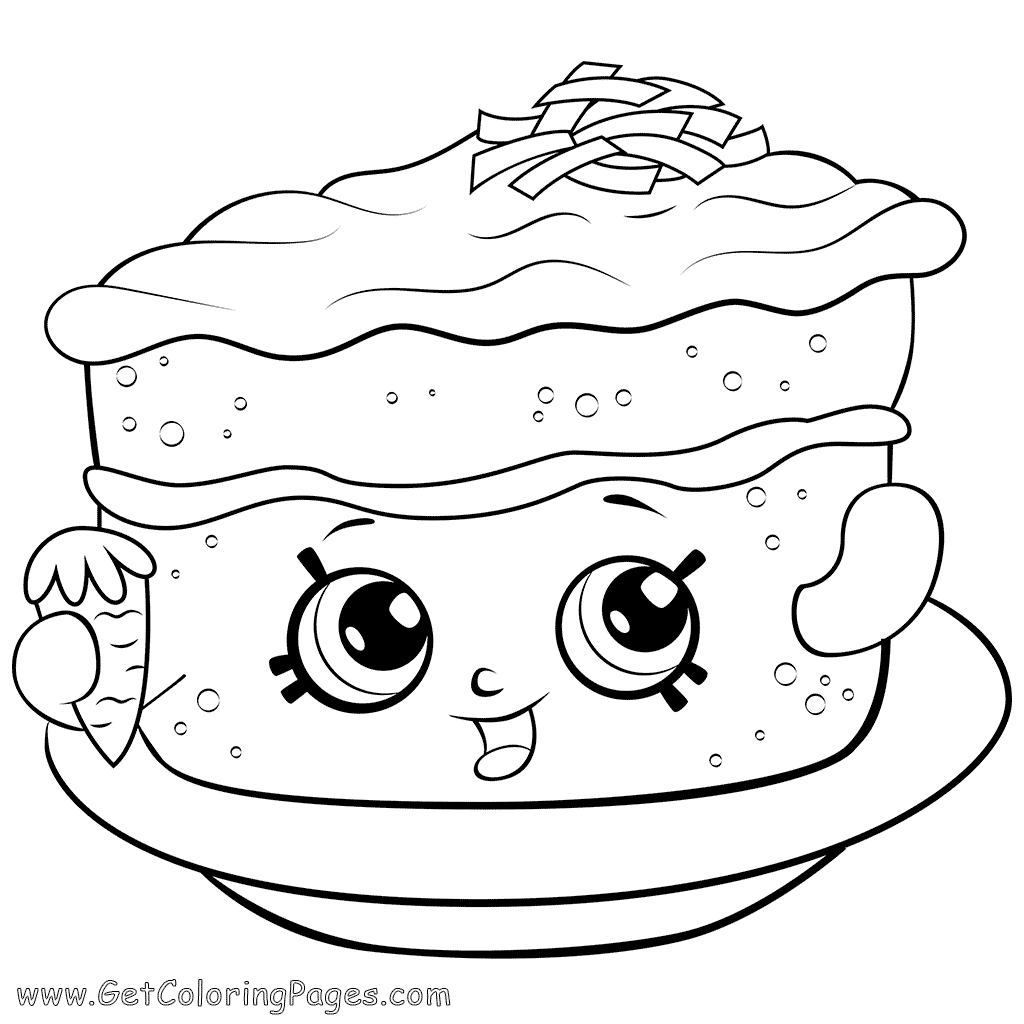 Carrot Cake Drawing at GetDrawings.com | Free for personal use ...
