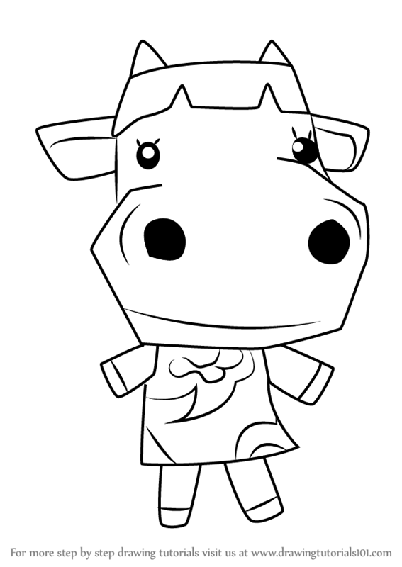 567x800 Learn How To Draw Carrot From Animal Crossing (Animal Crossing