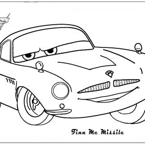 300x300 Coloring Pictures Of Cars 2 The Movie Copy 32 Coloriage Cars 2