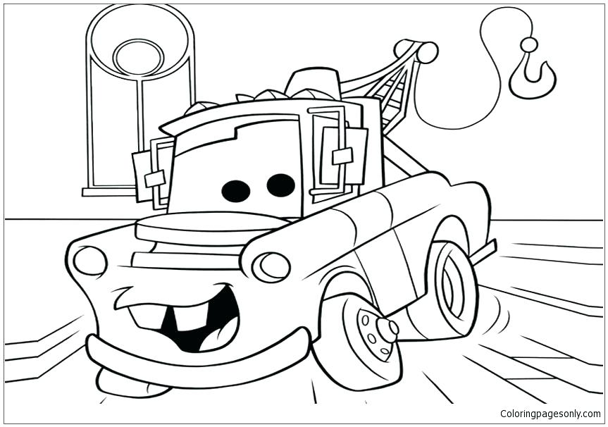 863x606 Disney Movie Coloring Pages Coloring Pages Cars Cars Movie