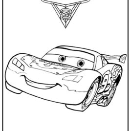 268x268 Cars 2 Coloring Pages Lewis Hamilton Archives