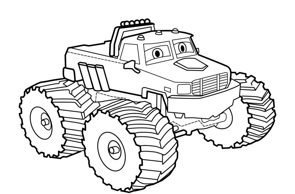 1024x673 Coloring Pages Truck From Cars Coloring Pages For Kids