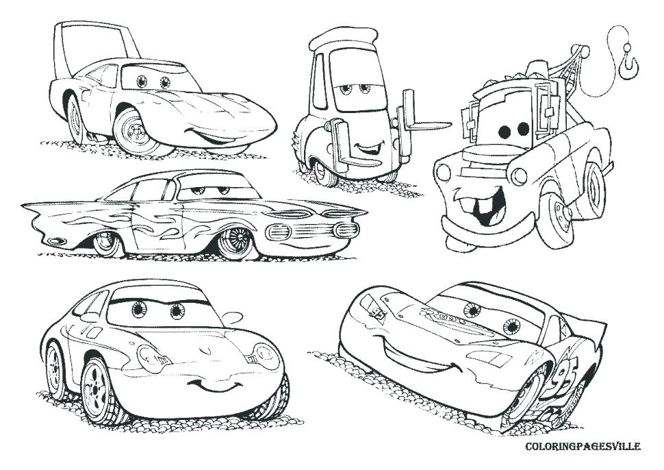 970x686 Disney Cars 2 Coloring Pages
