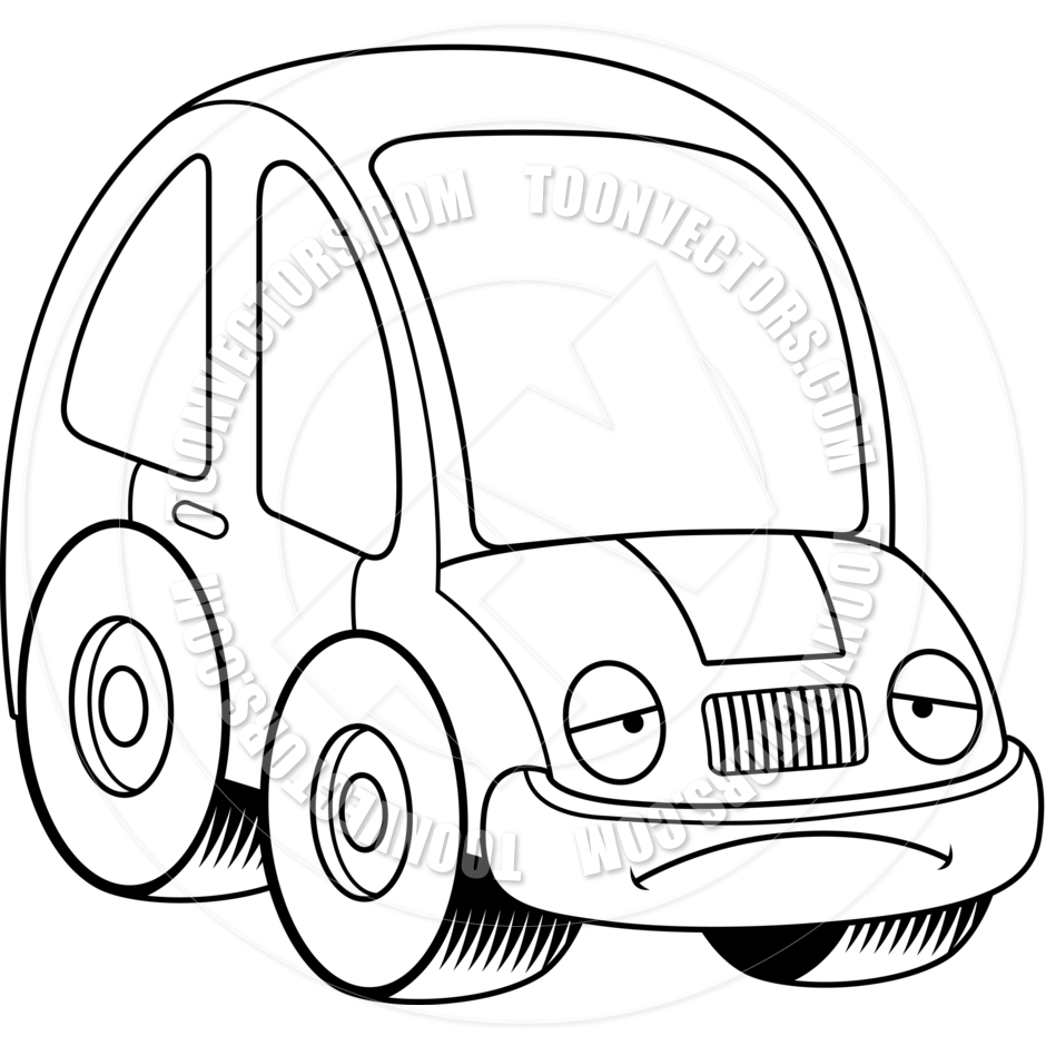 Cars Cartoon Drawing