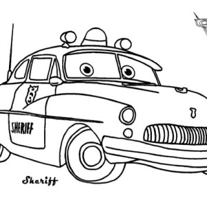 300x300 Fillmore And Flo From Disney Cars Coloring Page Fillmore And Flo
