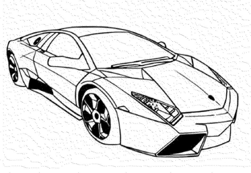 Cars Drawing
