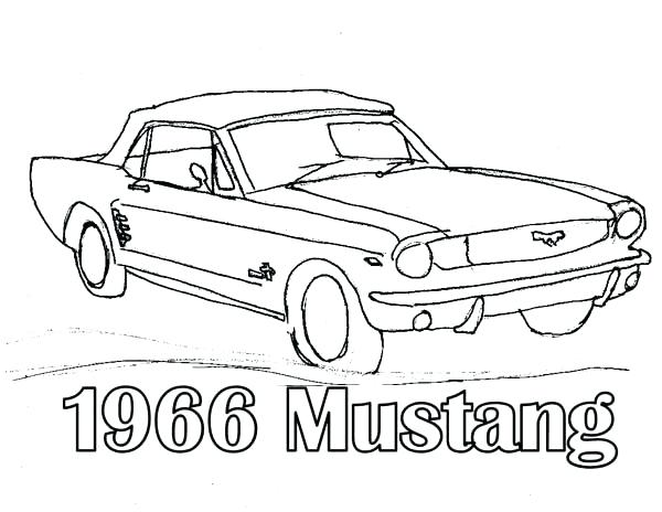 600x464 Mustang Car Coloring Pages Car Coloring Pages Drawing Mustang