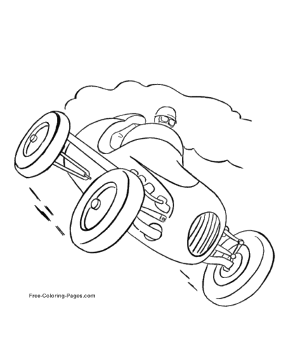 400x490 Cars Coloring Pages