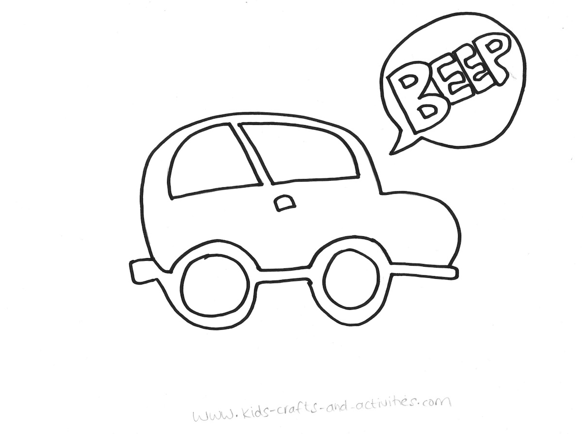 Cars Drawing For Kids at GetDrawings.com | Free for personal use ...