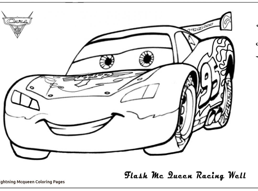 1080x800 Lightning Mcqueen Cars Coloring Pages Fantastic And Drawing