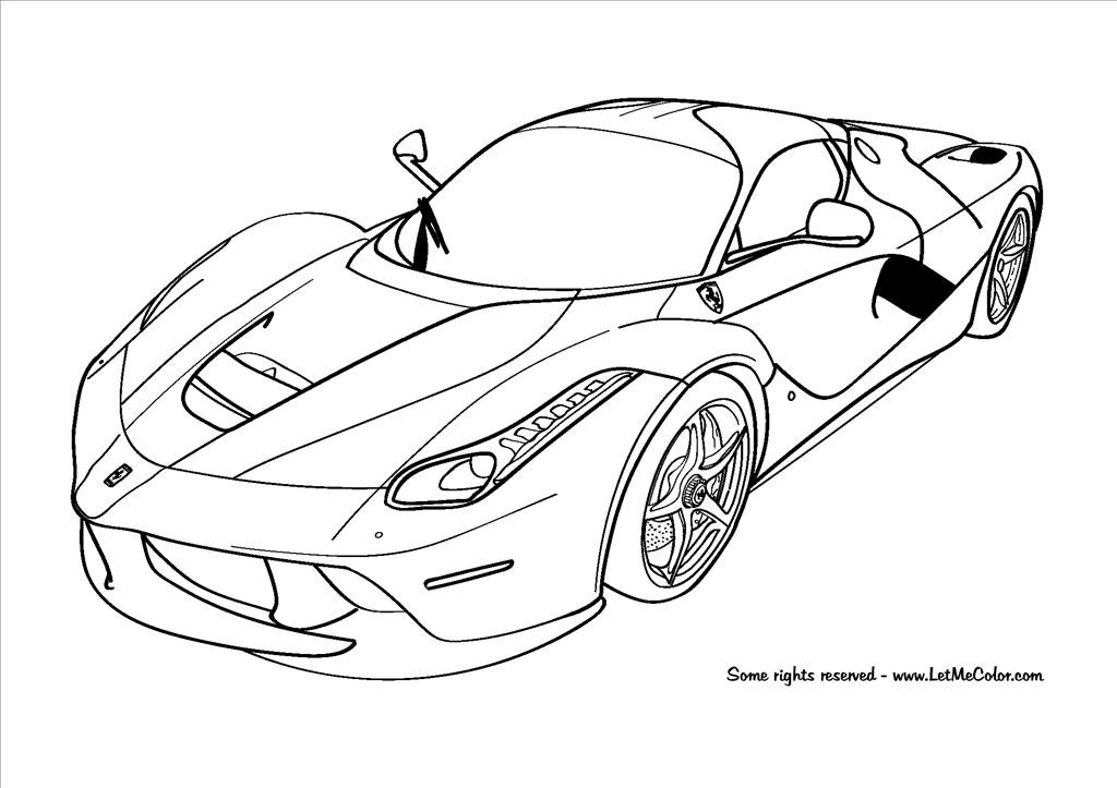 1024x723 Best Coloring Pages Cars Image Unknown Resolutions High