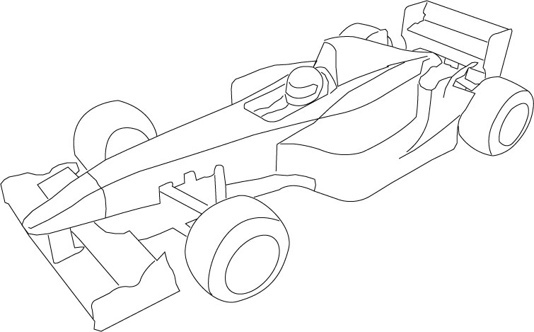 755x469 29 Images Of Car Drawing Template