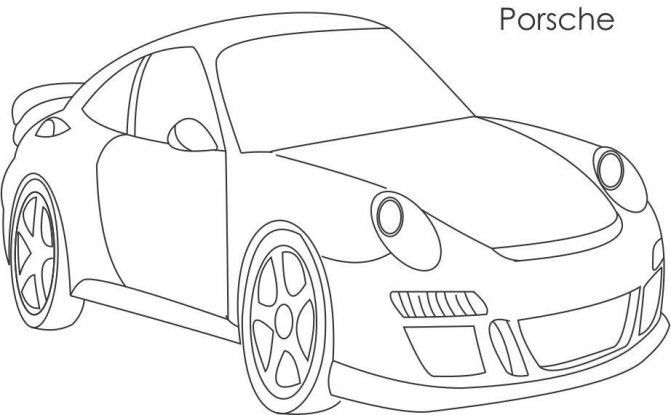 671x415 Coloring Pages Good Looking Cars Drawing For Kids Maxresdefault