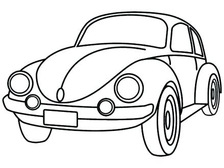 439x330 Coloring Picture Of Car Coloring Pages Easy Cars Coloring Page