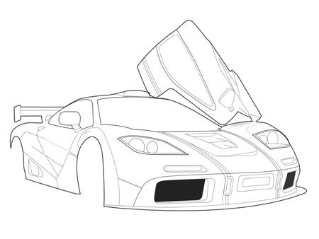450x338 Fancy Easy Pictures Of Cars To Draw
