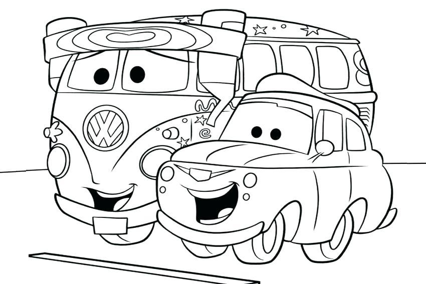 850x567 Disney Pixar Cars Movie Coloring Pages