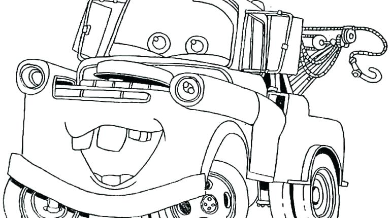 770x430 Mater Coloring Pages Cars Movie Coloring Pages To Print Mater