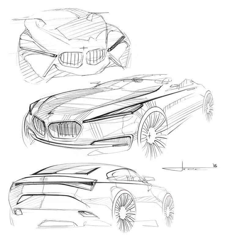 736x804 Grigory Butin Sketch Car Sketches Sketches