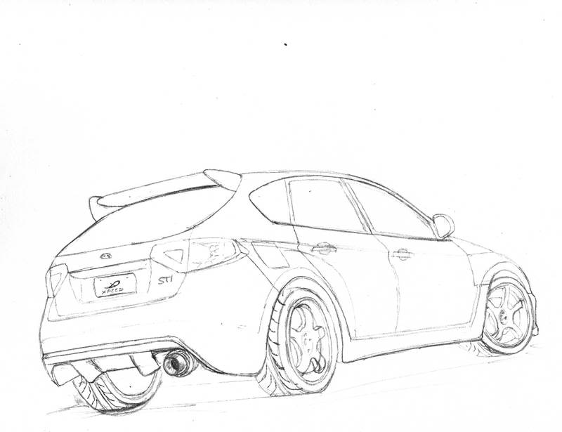800x615 Outline Drawing Of Drift Cars