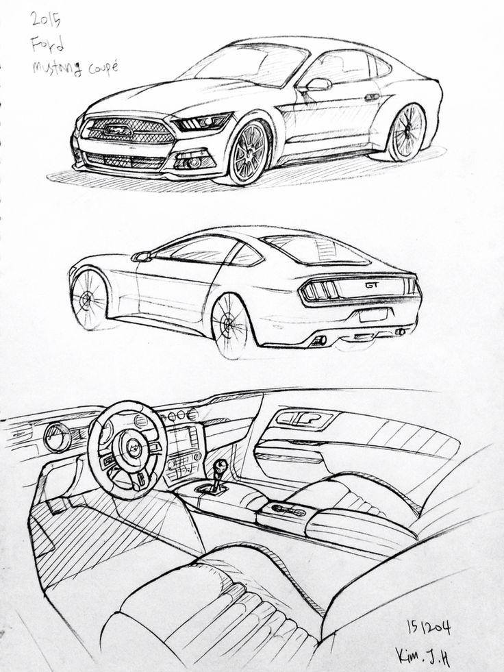 cars pencil drawing at getdrawings com