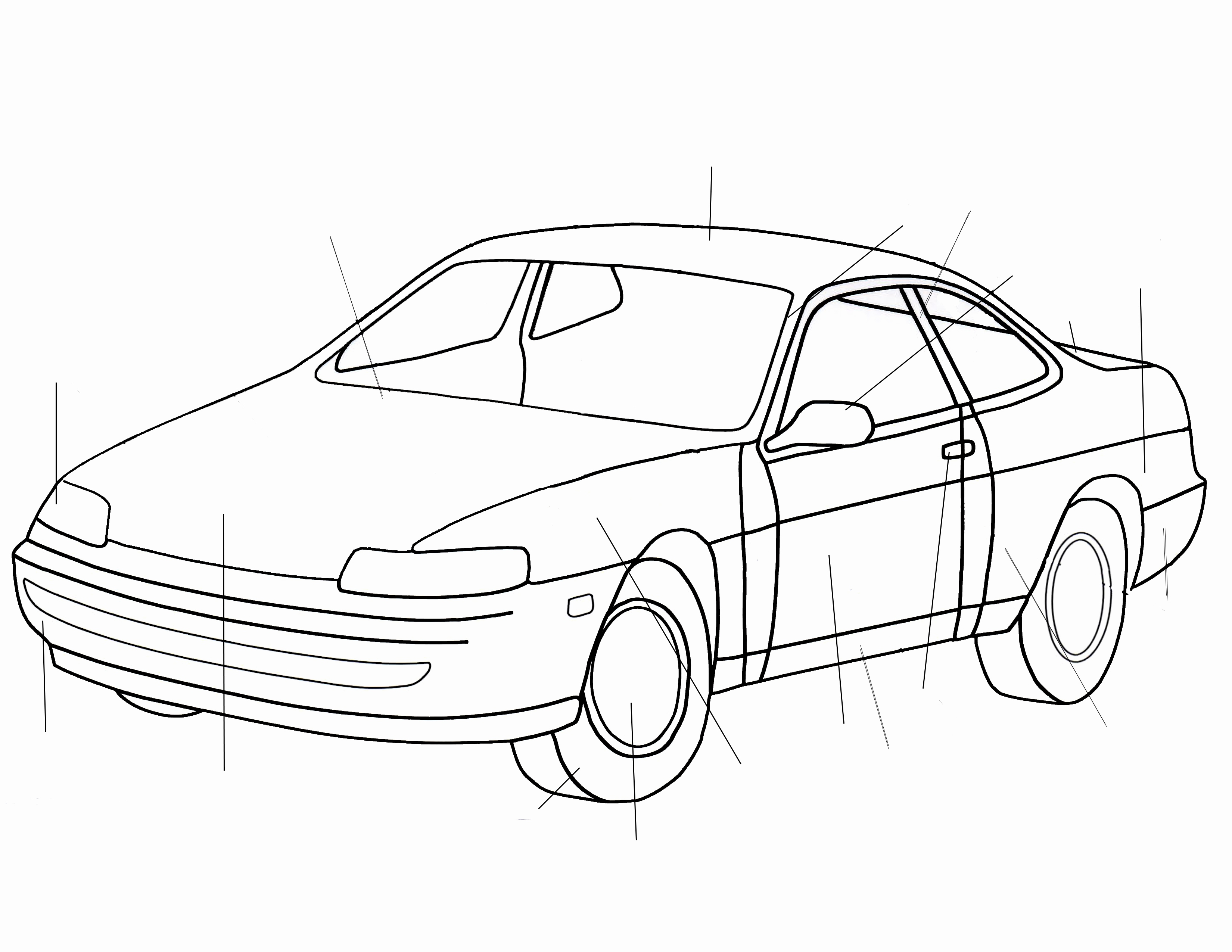 3300x2550 Simple Car Images Awesome Wallpapers Cars In Pencil Sketch Simple