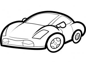 302x220 Coloring Pages Stunning Cars Drawing For Kids N9g How To Draw