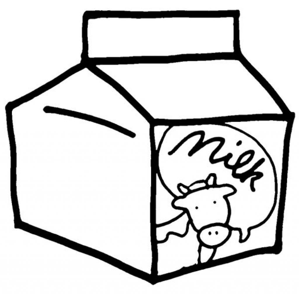 Carton Of Milk Drawing at GetDrawings Free for