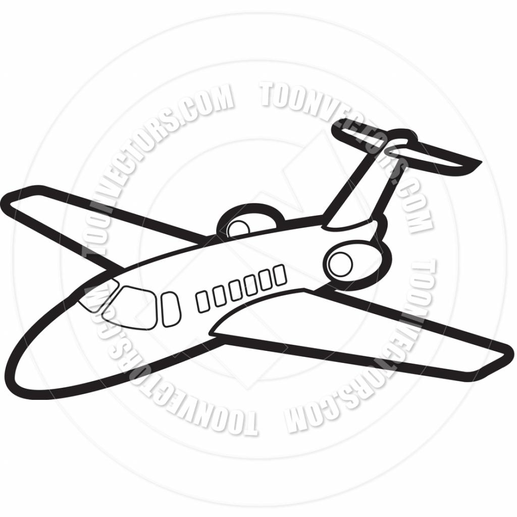1024x1024 Cartoon Jet Drawing Cartoon Jet Airplanelal Perera Toon Vectors