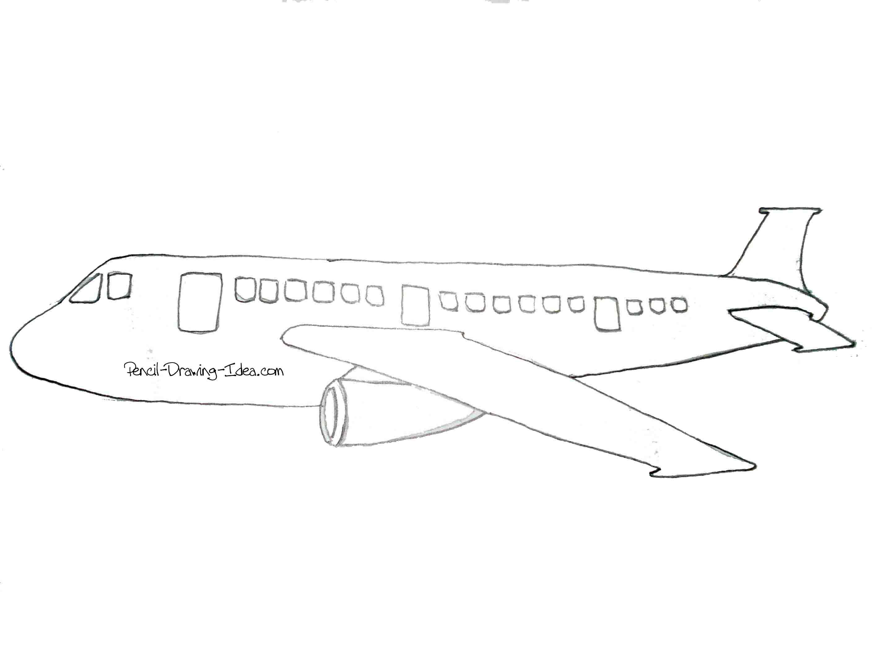 2816x2112 Simple Drawing Of Airplane Cartoon Drawing Cartoon Airplane