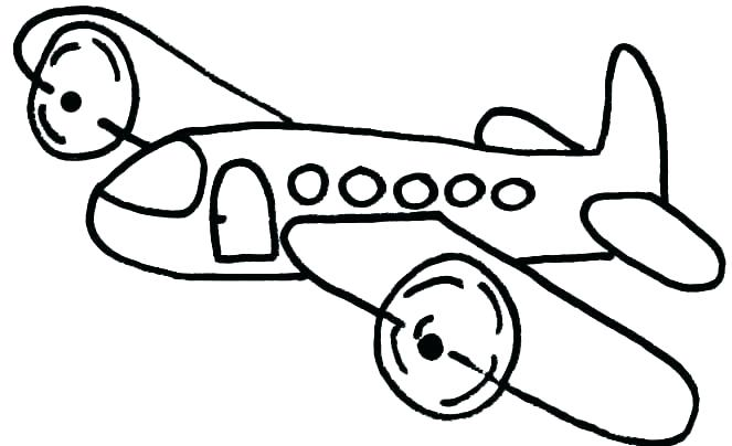 663x404 Airplane Coloring Pages Also Page Jet