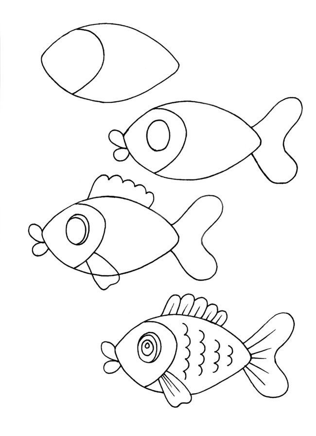 650x895 Drawing How To Draw Easy Cute Cartoon Animals Step By Step Plus
