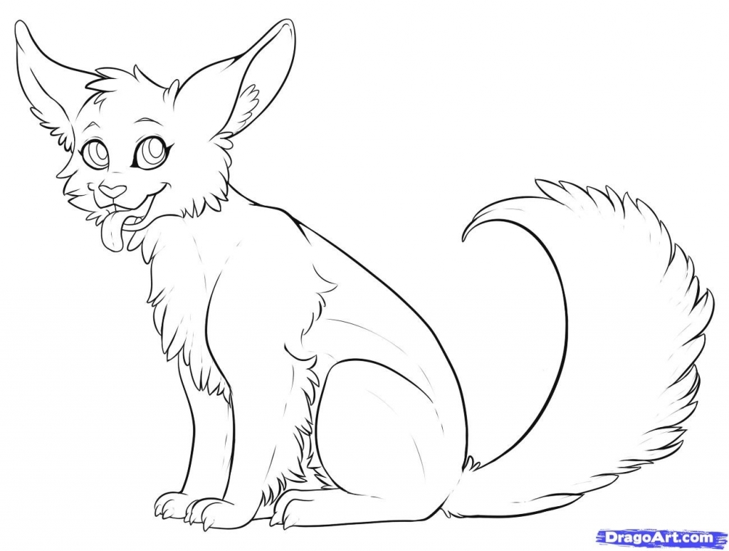 1024x774 Simple Animal Drawings How To Draw A Cute Animal Step Step Cartoon