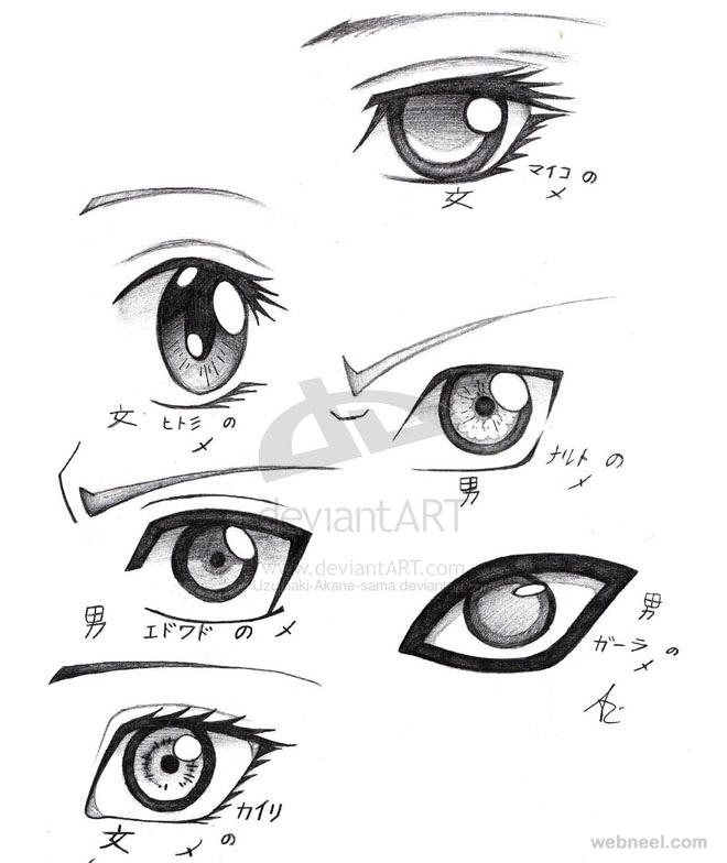 660x784 Draw Anime Eyes 31