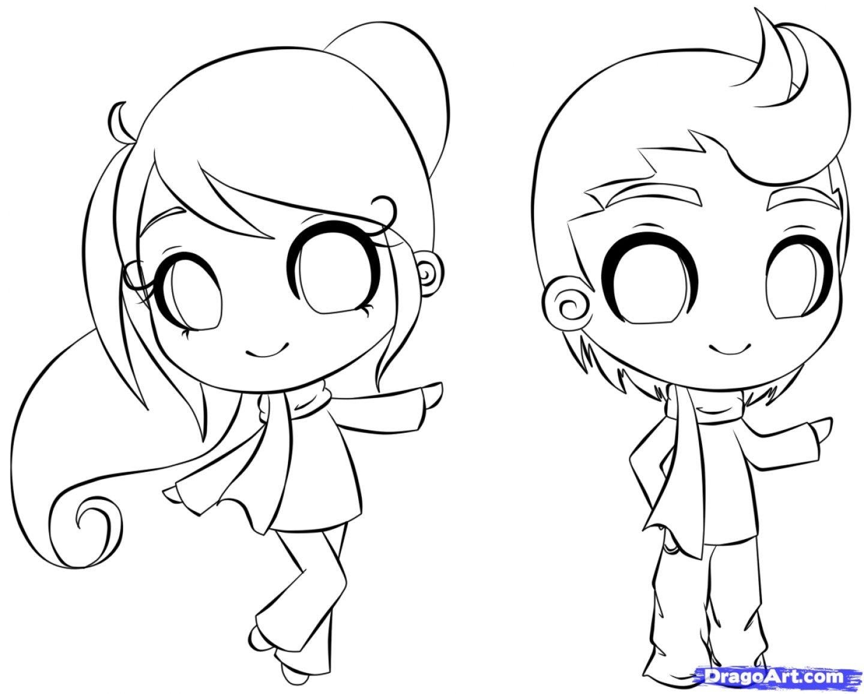 1440x1156 How To Draw Cartoon Animal People How To Draw Anime Step By Step