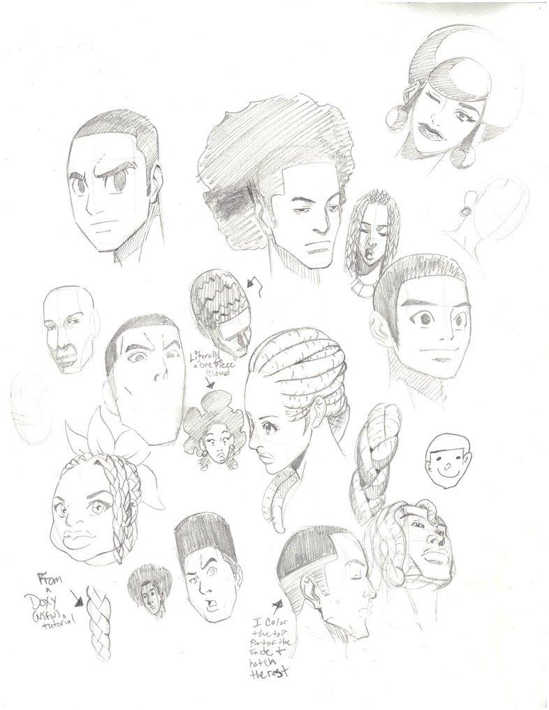 786x1017 Black People In Cartoon, Anime, And Manga 2 By Jetseta