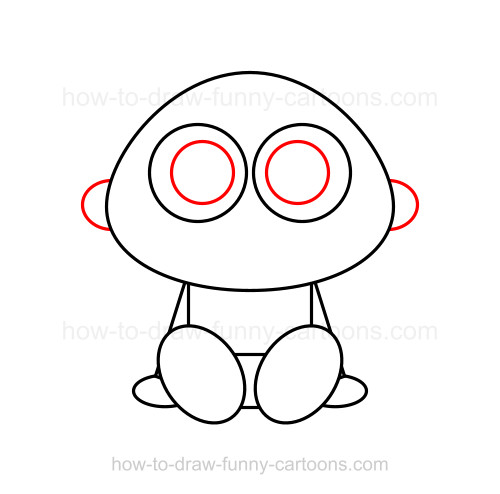 500x494 How To Draw A Baby