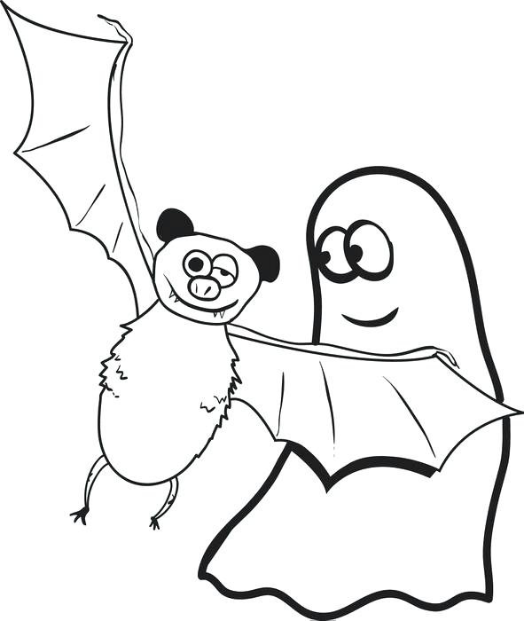 591x700 Bats Coloring Pages Free Printable Cartoon Bat Coloring Page