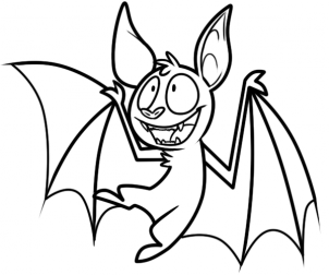302x252 How To Draw How To Draw A Vampire Bat