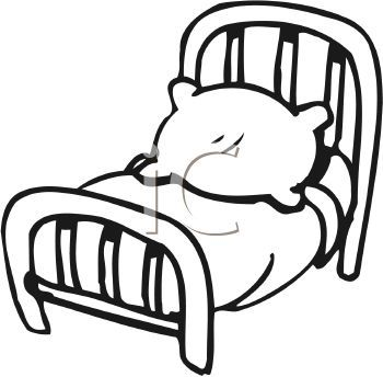 350x344 Beautiful Cartoon Picture Of Bed