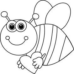 236x235 C8c69042b47cd4d7b0dee1409a829903 Bee Clipart Clipart Black