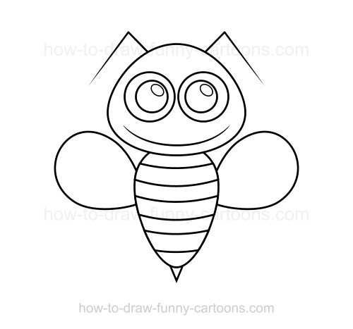 500x467 To Draw A Bee