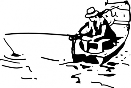 425x286 Animals Cartoon Fish Free Boat Automatic Fishing Boats Vector