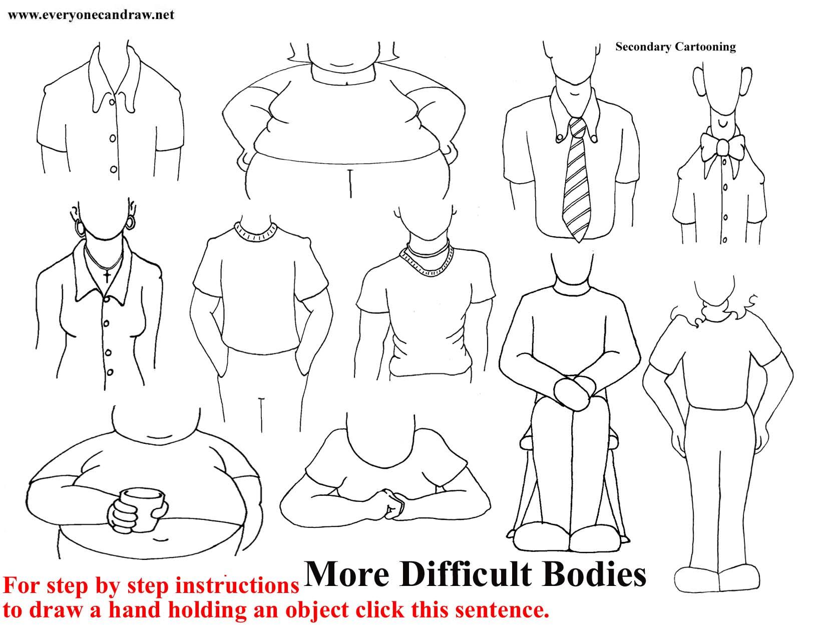 1650x1275 Drawing Cartoon Bodies Draw Your Own Cartoon Cartoon Bodies