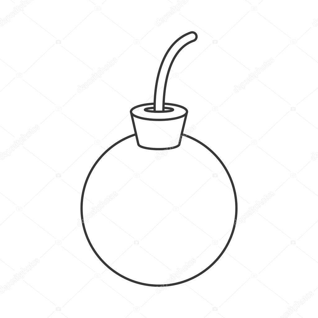1024x1024 Cartoon Bomb Icon Stock Vector Jemastock